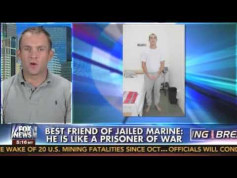 Best friend of jailed Marine: If Malia Obama was chained to a bed naked, you think there'd...