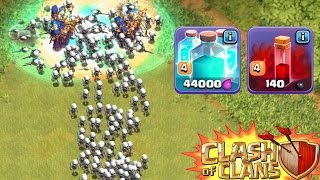 450 SKELETTE! || CLASH OF CLANS || Let