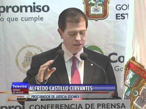 SECUESTRADORES DETENIDOS TELEVISA ESTADO DE MEXICO
