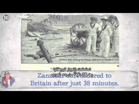 اغرب 10 حروب في التاريخ
