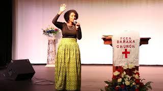 PCEA BARAKA CHURCH DALLAS TEXAS  CAROL WANJIRU SER