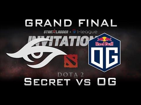 OG vs Secret Grand Final Starladder 2017 Minor EU Highlights Dota 2