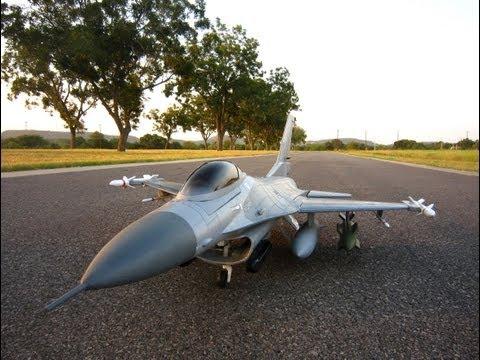 Banana Hobby-LX Super F-16 10-blade 2855-2100kV on 6S then 5S
