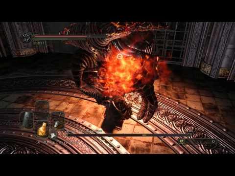 Dark Souls II - Smelter Demon - quick spectacular boss-fight