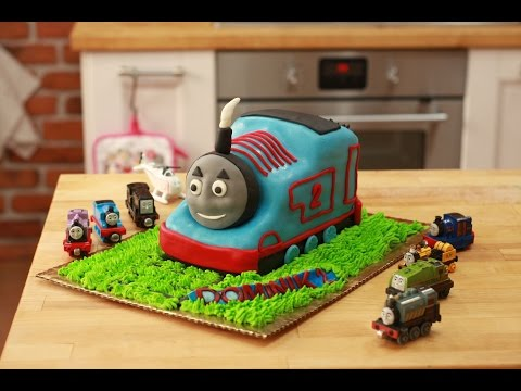 Tort Tomek, Thomas Cake Tutorial , Torty Dla Dzieci, Jak Zrobić Tort Dla Dziecka ?