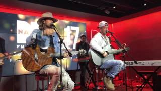 Download Lagu Florida Georgia Line - Anything Goes - at Nash FM in NYC - March 18, 2017 Gratis STAFABAND