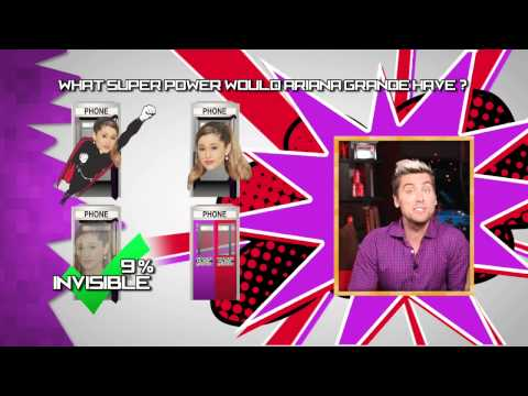 Lance Bass & Mamrie Hart Reveal Ariana Grande's Special Power - AMAs OD 2014 Episode 02