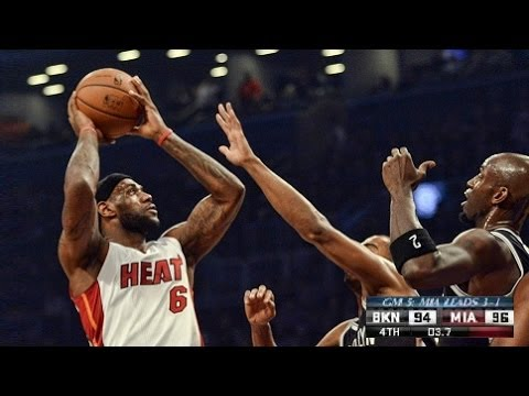 (Game Recap) Miami Heat Vs Brooklyn Nets Game 5 (Heat Amazing Comeback Win) Nba Playoffs 2014