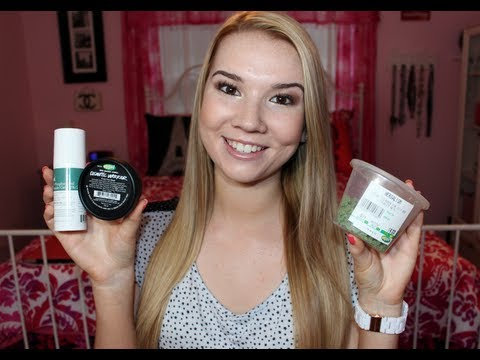 My Skincare Routine for Acne (feat. Lush)