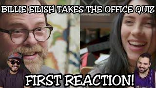 Billie Eilish Takes 'The Office' Quiz With Rainn Wilson   FIRST REACTION!