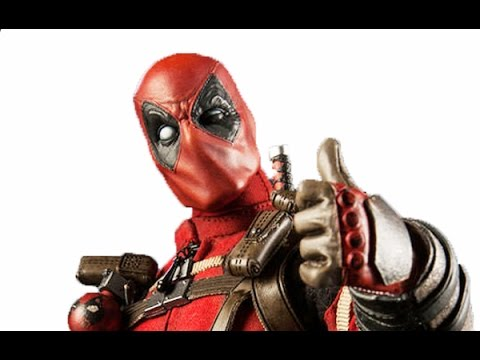 Deadpool 1:6 Scale Marvel Comics Sideshow Collectibles Hot Toys Action Figure Revealed