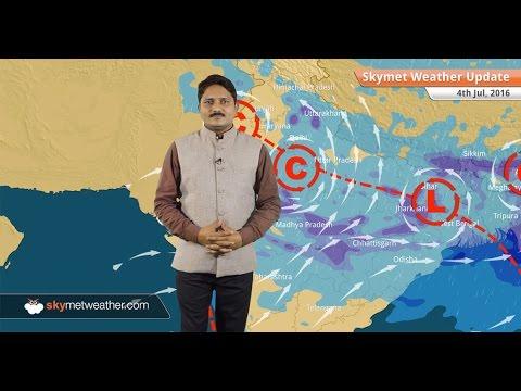 Weather Forecast for July 4: Active Monsoon conditions in Delhi, Mumbai, Kolkata, Uttarakhand