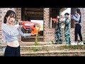 Nerf War: Comando Force ⚡ Warrior Squad Nerf Guns Hunt Evil Mind Group Revenge for Girl Friend