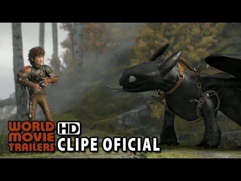 COMO TREINAR O SEU DRAGÃO 2 Clipe Oficial - Os primeiros 5 minutos (2014) HD