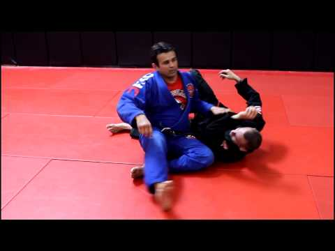 Jiu Jitsu Techniques - De La Riva Sweep Against Low Guard Pass Image 1