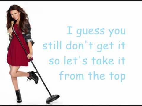 Take A Hint Lyrics - Victorious - Victoria Justice & Elizabeth Gillies