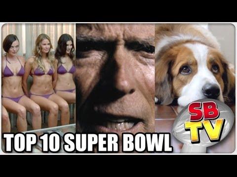 Top 10 Super Bowl Ads of 2012 (HD)
