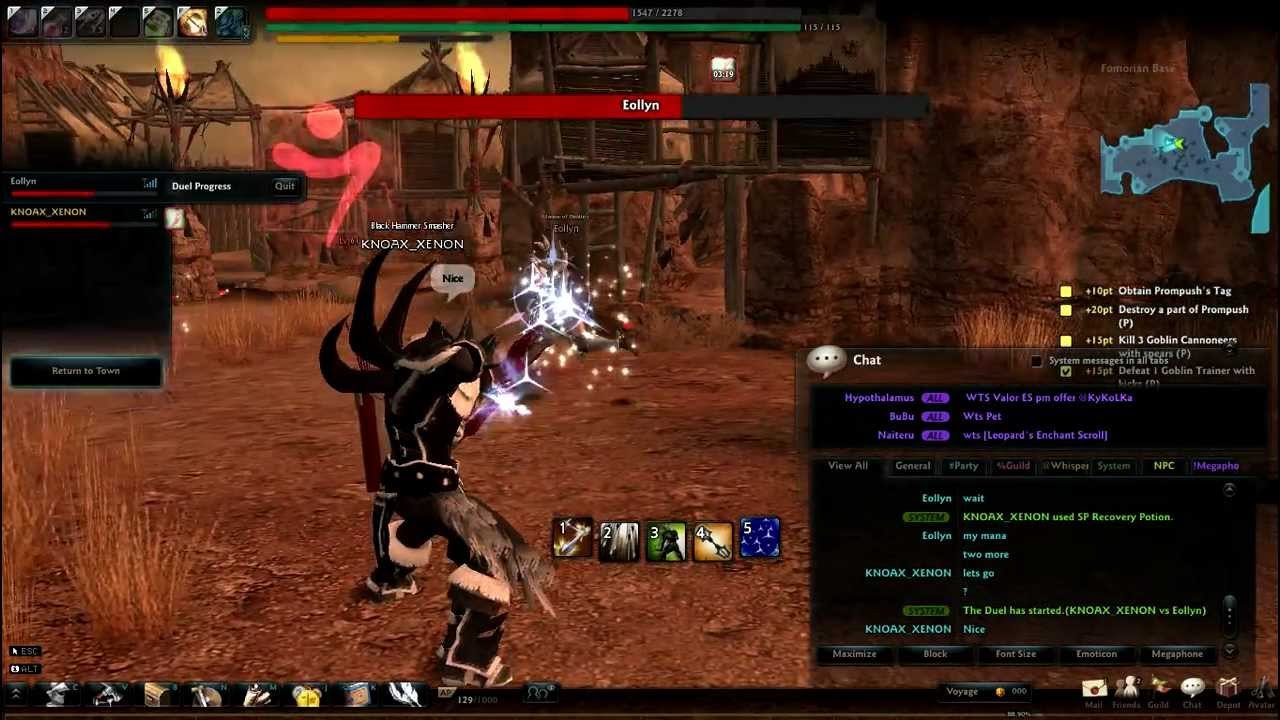 vindictus sword lann pvp guide