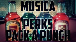 Zombies: Música dos Perks + Pack-a-Punch