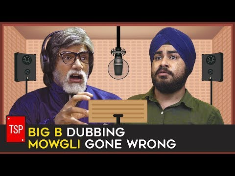 BIG B DUBBING MOWGLI GONE WRONG | The Screen Patti thumbnail