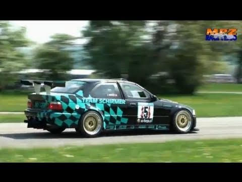 Cool sounds at Time Attack Slalom Frauenfeld 2011 with Hillclimb cars - Bergrennen Vol.2