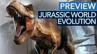 Grafikpracht, die Ark neidisch macht: Jurassic World Evolution Gameplay Preview