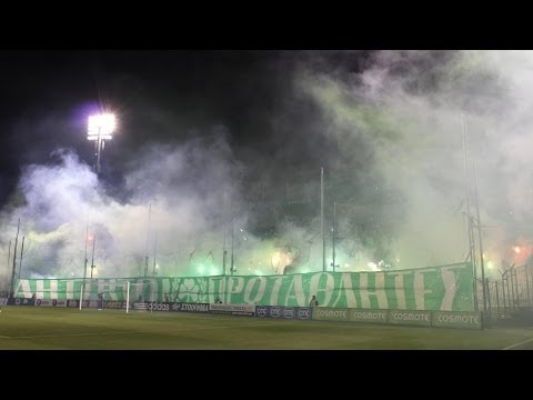 Panathinaikos 4:1 Aris 08.03.2014 Gate 13