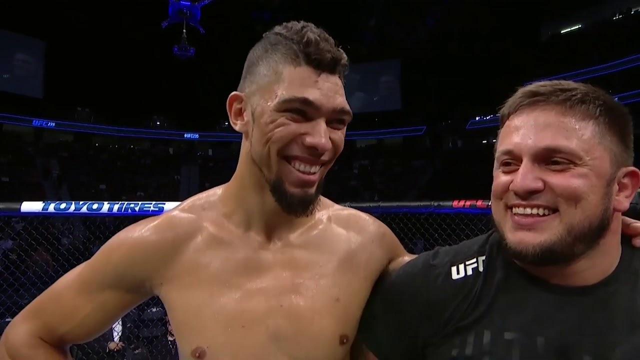 UFC 235: Джонни Уолкер - Слова после боя