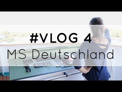 MS Deutschland #Vlog4 - Wir besichtigen die Brücke - Phoenix Reisen