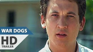 WAR DOGS All Trailer + Clips (2016)