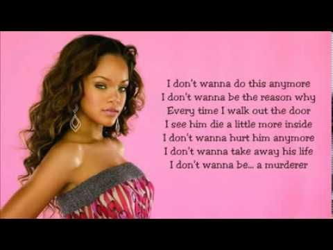 Rihanna   Unfaithful with Lyrics)