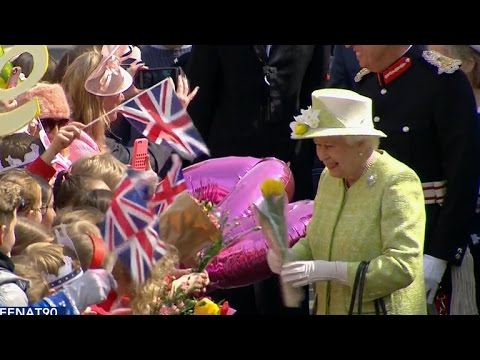 Queen Elizabeth II begins 90th birthday celebrations
