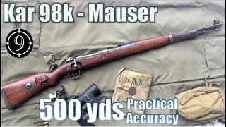 Kar98k Iron Sights to 500yds: Practical Accuracy