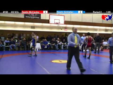 NYAC FS 66 KG / 145.5 lbs: Destin McCauley vs. Dustin Schlatter