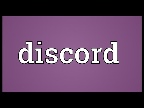 Discord Meaning