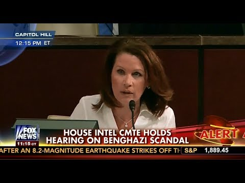 Bachmann Challenges Former CIA Director on Benghazi