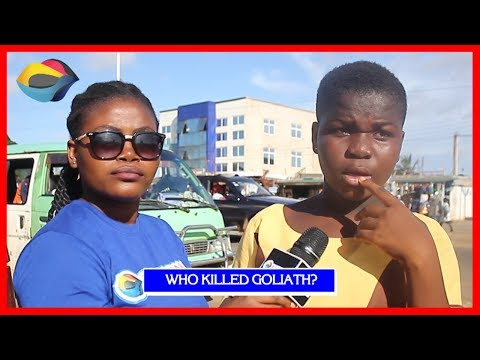 Who Killed GOLIATH?   Street Quiz   Funny Videos   Funny African Videos   African Comedy thumbnail