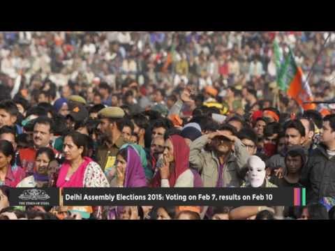 Delhi Assembly Elections 2015: Voting on Feb 7, Results on Feb 10 - TOI