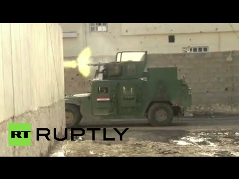 Iraq vs ISIS: Security forces go guns blazing against Islamists in Ramadi city