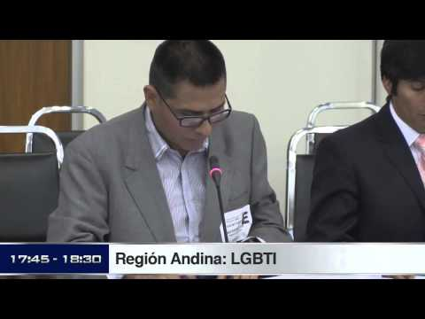 CIDH - Audiencia Region Andina LGBTI