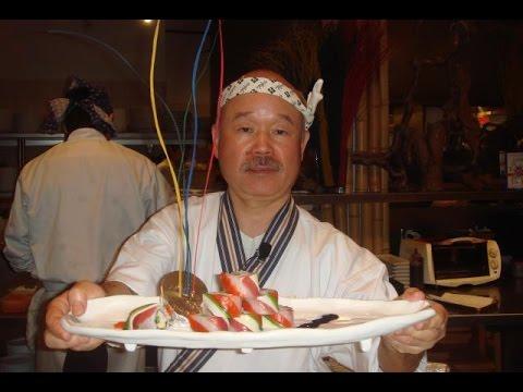 """ญี่ปุ่นยกย่องเชฟคิดค้นเมนู""""California Roll""""เป็นทูตอาหาร"""