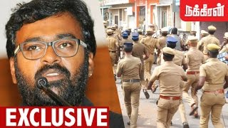 Exclusive Interview on Police Attack at Marina