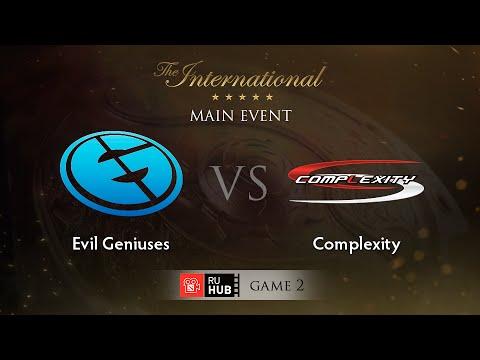 EG -vs- coL, TI5 Main Event, WB Round 1, Game 2