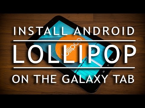 How to install android lollipop 5 on GT-P1000 galaxy tab OMNI ROM