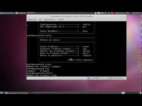 MaxoNext0.0.2-  Review - Sistema Operativo en C