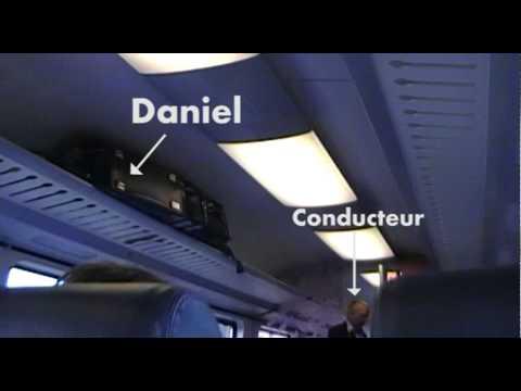 Onderkoffer - Zwartrijden op het bagagerek