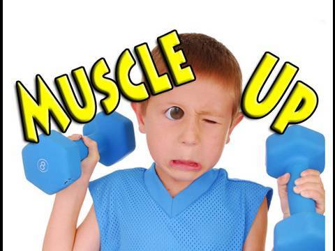 The Secret to Muscle Strength & Size for Kids - YouTube