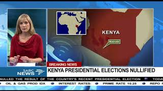 Kenya's presidential elections nullified