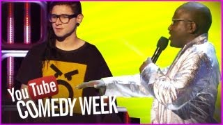 Hannibal Buress & Skrillex Gibberish Rap - The Big Live Comedy Show Highlights - YouTube Comedy Week