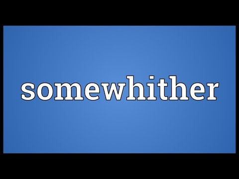 Header of somewhither